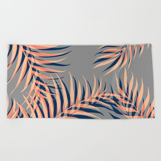 Palms Vision II #society6 #decor #buyart Beach Towel