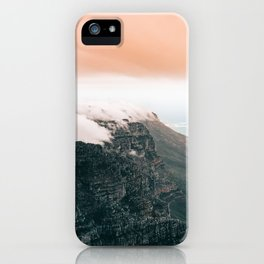 Table Mountain, South Africa iPhone Case