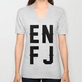ENFJ Unisex V-Neck