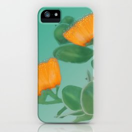 Hawaii Yellow Lehua Blossom iPhone Case