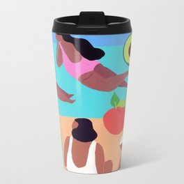 Fruity Beach Metal Travel Mug