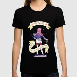 Fight like a girl 2.0 T-shirt