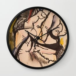 String Along Wall Clock
