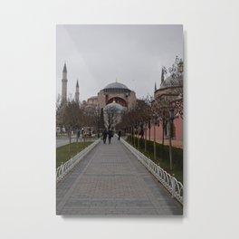 Ayasofya Metal Print