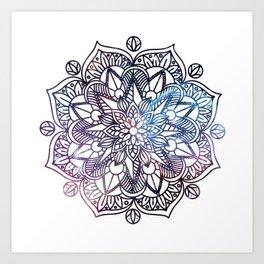 Universe Mandala Art Print