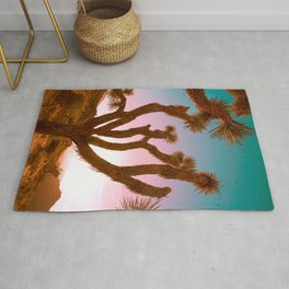 Joshua Tree Desert Sunset Rug