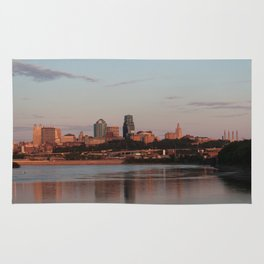 Downtown Kansas City at Sunset Rug