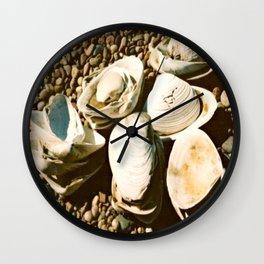 She sells seashells by the seashore Wall Clock