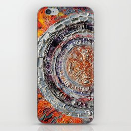 """""""The temple of the dragon"""" iPhone Skin"""