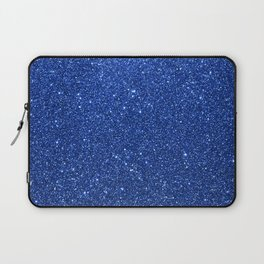 Cobalt Blue Glitter Laptop Sleeve