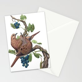 Mourning Doves Stationery Cards
