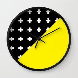 Memphis pattern 80 Wall Clock