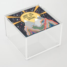 Nobody can steal your magic Acrylic Box