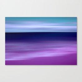 purple beach XI Canvas Print