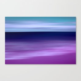 purple beach XI Canvas Print