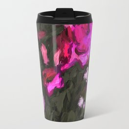 Delicious Pink Flowers 1B Travel Mug