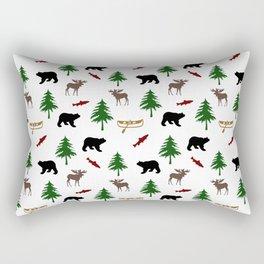 Moose Bear Rectangular Pillow