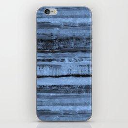 Expressive Inverted Watercolor Stripe iPhone Skin