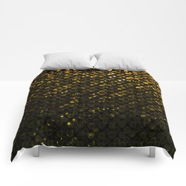 Crystal Bling Strass Gold G321 Comforters