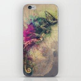 When i Dream of Chameleon iPhone Skin