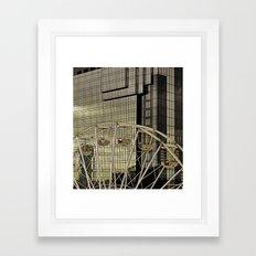 Wheel and the Hyatt Framed Art Print