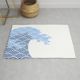 Japaneese Wave Rug