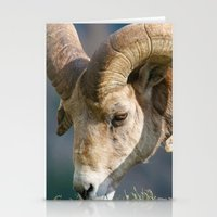 ram Stationery Cards featuring Ram by David Todd