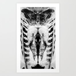 Metamorphine Art Print