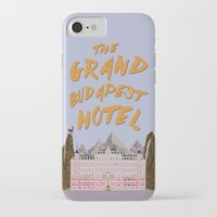 budapest hotel iPhone & iPod Cases featuring THE GRAND BUDAPEST HOTEL by Kaitlin Smith