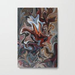 Caffine High Metal Print