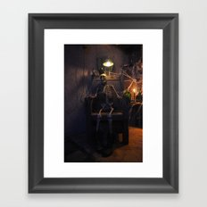 He done wrong Framed Art Print