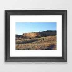 Chasing Daylight Framed Art Print