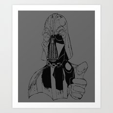 Star Vader Art Print