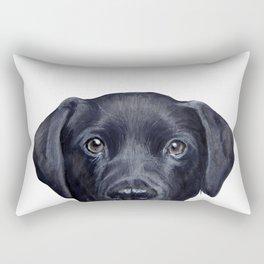 Lablador Dog illustration original painting print Rectangular Pillow