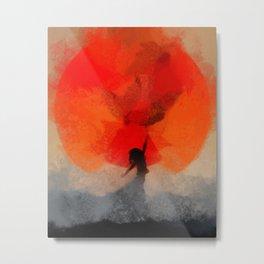 umbrellaliensunshine: atomicherry spring! Metal Print