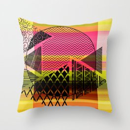 Zentangle Fun Throw Pillow