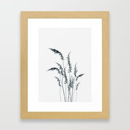 Wild grasses Framed Art Print