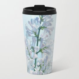 SOFT BLUE LILAC Travel Mug