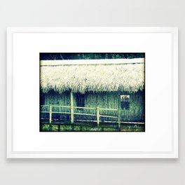 Old witch's house Framed Art Print