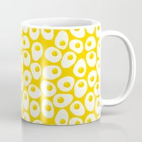 egg Mugs featuring EGG by JESSICAXYL