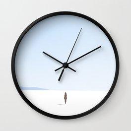 Minimal Beach Landscape 11 Wall Clock