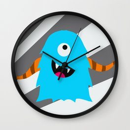 Little Monster 1 Wall Clock