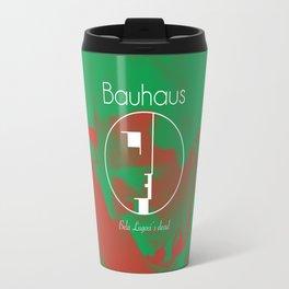 Bauhaus Bela Lugosi's Dead Album Cover Travel Mug
