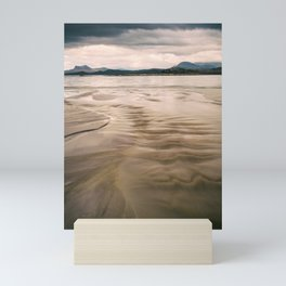 Beach and Mountains II Mini Art Print
