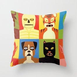 Animen Throw Pillow