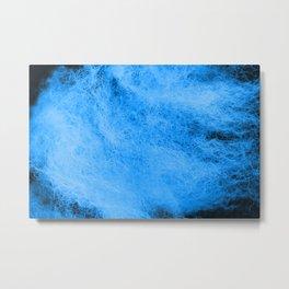 Wool blue tint Metal Print