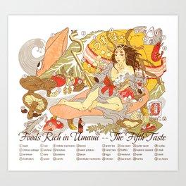 The Fifth Taste: Umami Art Print