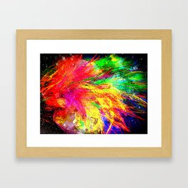 Bursting With Joy Framed Art Print