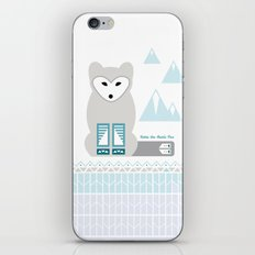 Kettu the Arctic Fox iPhone & iPod Skin