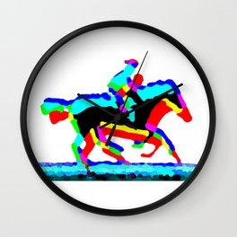 Horse Riders Wall Clock
